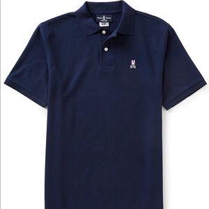 Psycho Bunny Classic Short-Sleeve Solid Polo Shirt